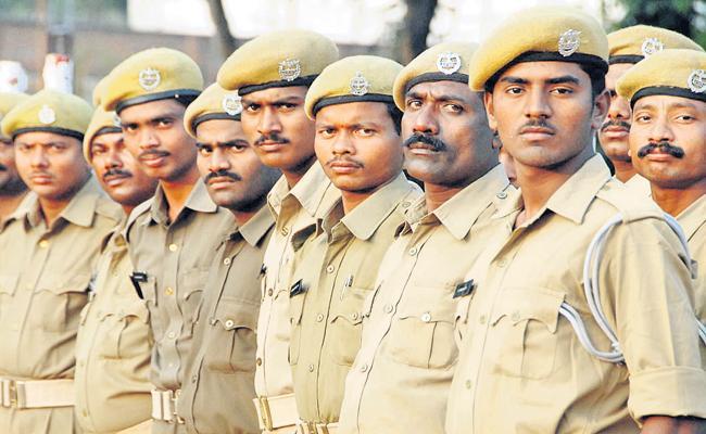 Homeguards pays gratitude to CM YS Jagan - Sakshi