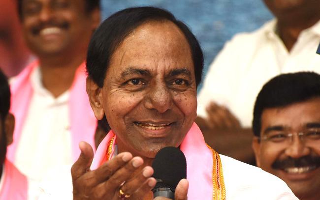KCR Speech About Huzurnagar By Election Victory In Pragati Bhavan - Sakshi