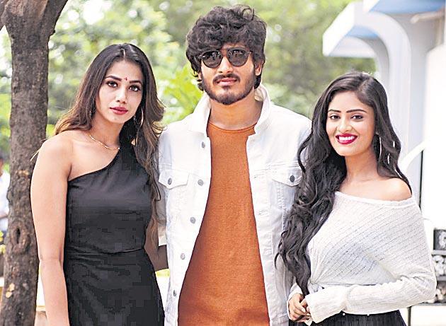ghantadi krishna, gaddam ravi new movie launch - Sakshi