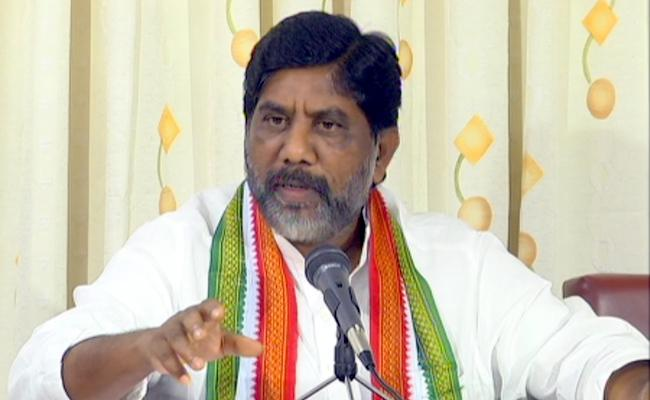 Mallu Bhatti Vikramarka Critics KCR Over Comments TSRTC Strike - Sakshi
