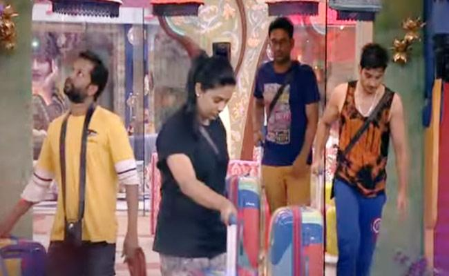 Bigg Boss 3 Telugu: All Housemates Pack Their Bags, Any Twist - Sakshi