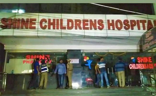 Shine Hopital MD Sunil Kumar Reddy Taken Into Remand - Sakshi