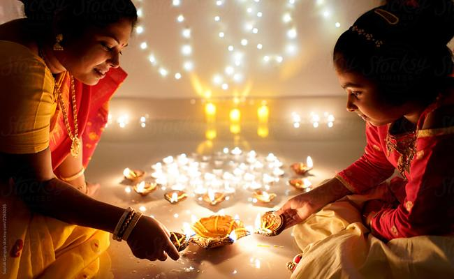 How Is Diwali Is Celebrated In All Over India - Sakshi