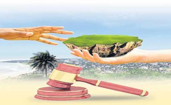 Dates For Complaint On Visakha Land Scam - Sakshi
