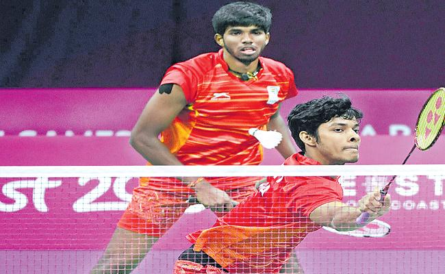 Sathwik And Chirag Entered To Doubles Finals Of BWF French Open - Sakshi