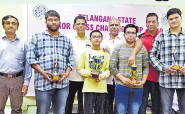 Sreeshwan Wins Telangana State Chess Championship - Sakshi