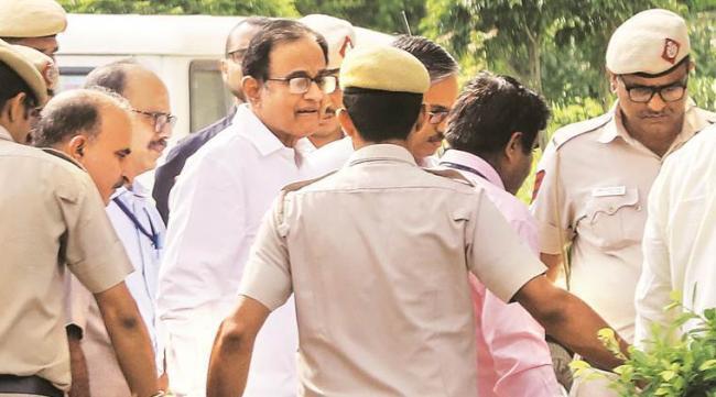 P Chidambaram Taken To AIIMS After Stomach Ache Complaint - Sakshi