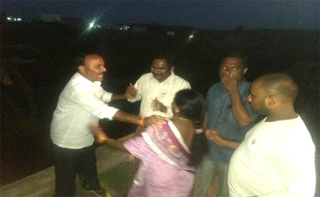 TDP Leader Has Acted Indecently Minor Irrigation Officials - Sakshi