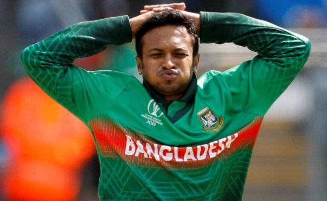 ICC bans Bangladesh Player Shakib Al Hasan for two years - Sakshi