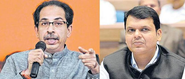 Shiv Sena corners BJP on economic slump - Sakshi