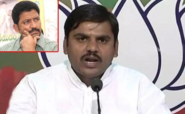 BJP Invites Vallabhaneni Vamsi Says AP BJP Leader Vishnuvardhan Reddy - Sakshi