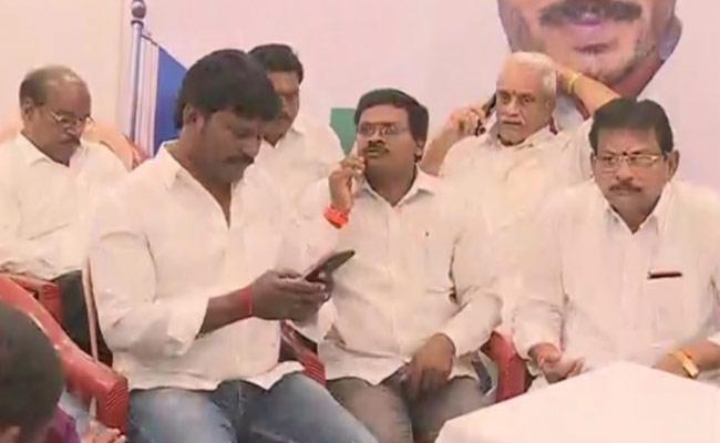 Agri Gold Victims Committee Meeting Held In Vijayawada YSR Congress Party office  - Sakshi