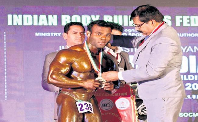 Asian Bodybuilding Championship 2019 Winner Ravi Kumar Special Story - Sakshi