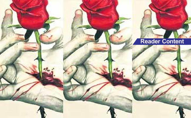 Poem On Love In Telugu - Sakshi