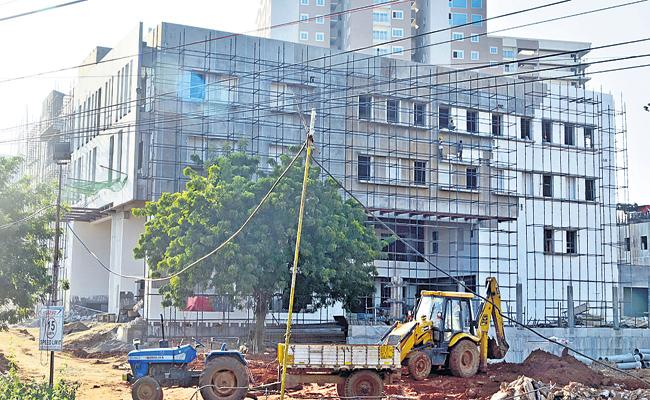 TDP office in the land of the poor people - Sakshi