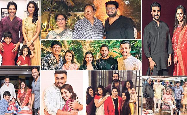 Tollywood Stars Celebrated Diwali - Sakshi