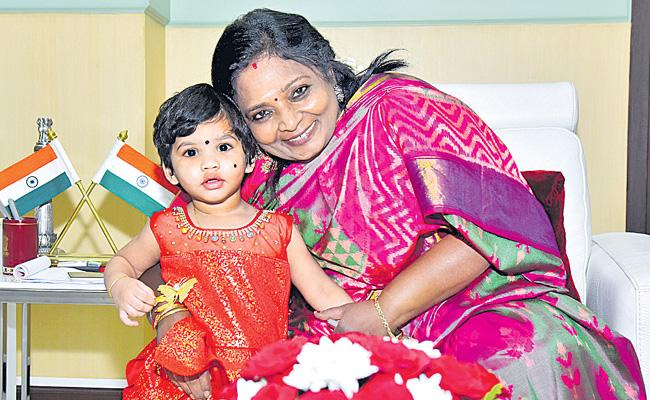 Governor Tamilisai soundararajan Speech In Raj Bhavan Over Diwali Celebration - Sakshi