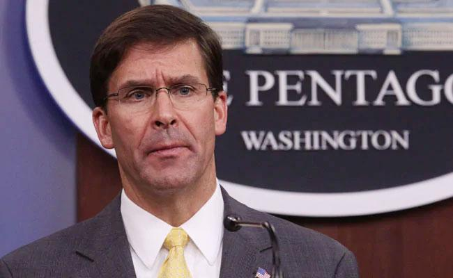 US Defence Secretary Says Can Strike Any Body Any Time Over Baghdadi Death - Sakshi