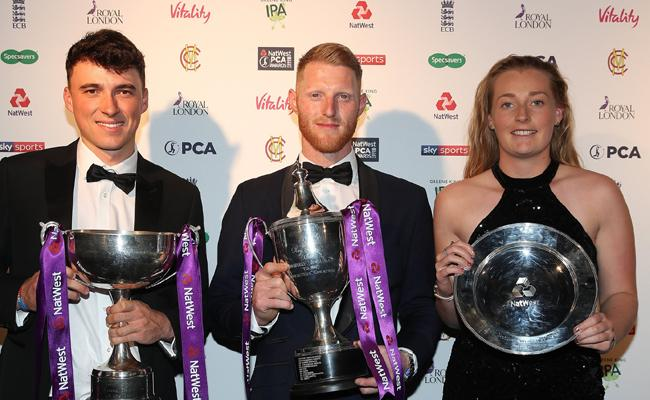 Stokes Bags Professional Cricketers Association Award - Sakshi