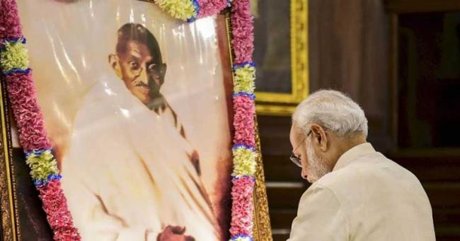 PM Narendra Modi Einstein Challenge on 150th Gandhi jayanti - Sakshi