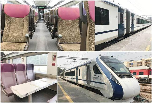 Specialities of Vande Bharat Express - Sakshi