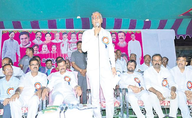Harish rao comments about KCR - Sakshi