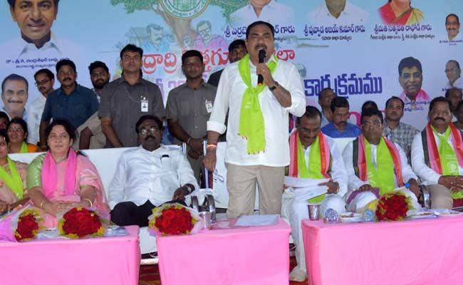 Errabelli Dayakar Rao Speech In Kothagudem District - Sakshi