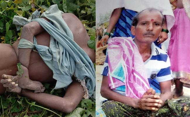 Man Brutally Murdered At Avalangi In Srikakulam - Sakshi