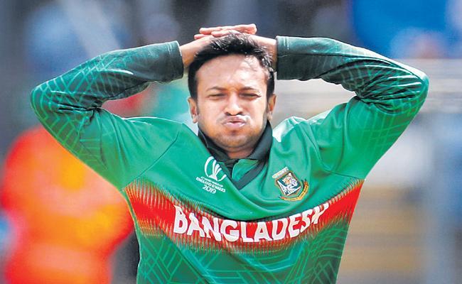 Bangladesh Captain Shakib Al Hasan Banned For Two Years - Sakshi