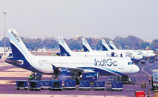 Indigo Places 300 Airbus 320Neo Model - Sakshi