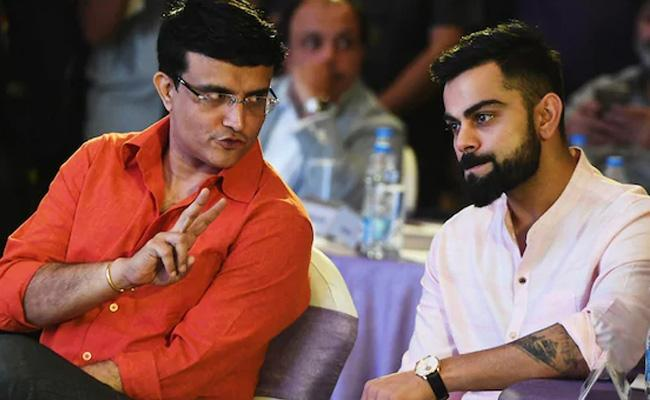 Sourav Ganguly Special Thanks To Kohli For Play Day Night Test  - Sakshi