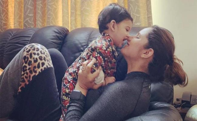 Sania Mirza Promises Son Izhaan Saying That She Will Be With Him Till Her Last Breath - Sakshi
