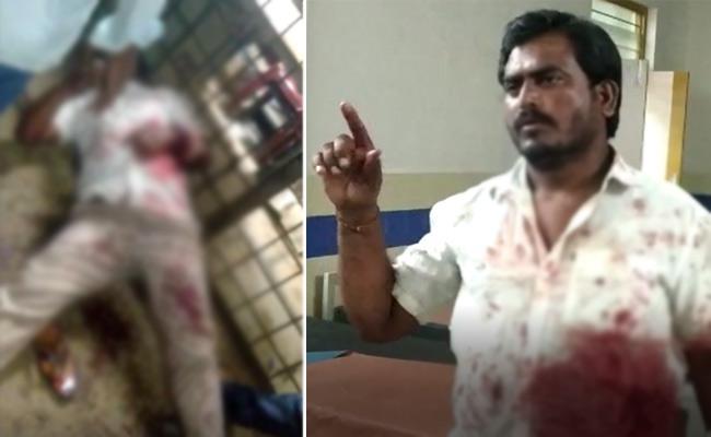 Liquor Shop Salesman Attacked Consumer Over MRP In Mahabubabad - Sakshi