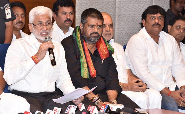YSRCP MP Vijayasai Reddy Comments On Chandrababu - Sakshi