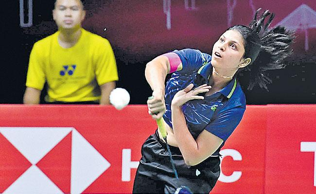 Sai UtteJita And Ajay Jayaram Loses Macau Badminton Tournament - Sakshi