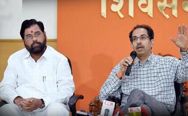 Eknath Shinde Elected As Shiv Sena House Leader - Sakshi