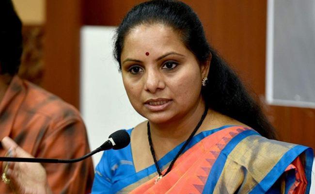 Former MP Kavitha Not Visite Nizamabad After Loss Election - Sakshi