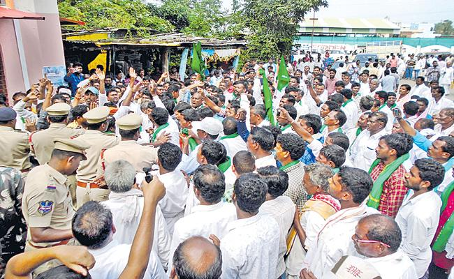 Demands to remove Lambadis from ST list - Sakshi