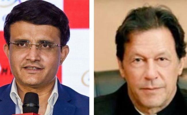 Sourav Ganguly reacts to Imran Khans Speech At The UN - Sakshi