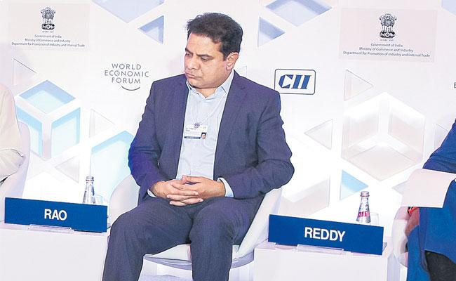 Minister KTR Takes Part In India Economic Summit 2019 - Sakshi