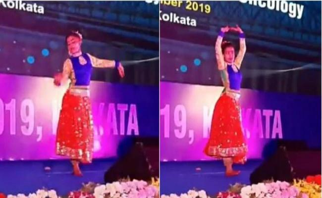 11 Year Old Girl Lost Leg To Cancer And Dances In A Event In Kolkata - Sakshi