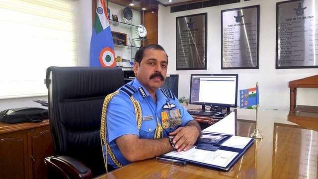 Air Force Chief  Says Big Mistake To Shoot Down Our Own Chopper - Sakshi
