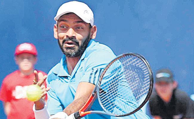 Divij Saran And Rohan Bopanna Lose in Quarterfinals  - Sakshi