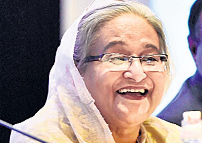 Bangladesh PM Sheikh Hasina jokes after India bans onion exports - Sakshi