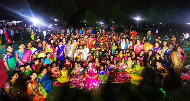 TCSS Bathukamma Celebrations held in Singapore - Sakshi