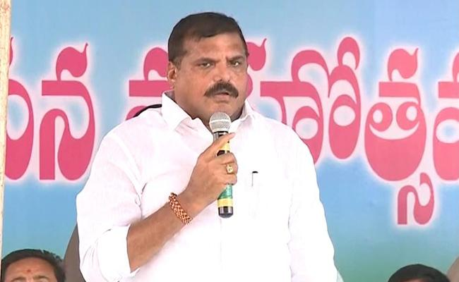 Municipal Minister Bothsa Comments on Vizianagaram District - Sakshi