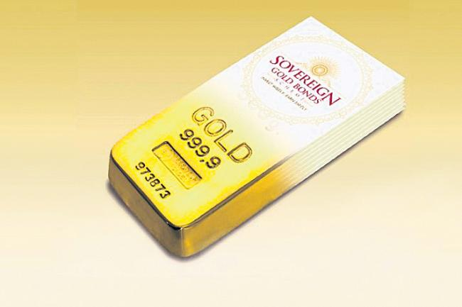 Gold bond price fixed at Rs 3788 per gm, issue opens Monday - Sakshi