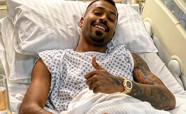 To Be Back In No Time Hardik Pandya - Sakshi