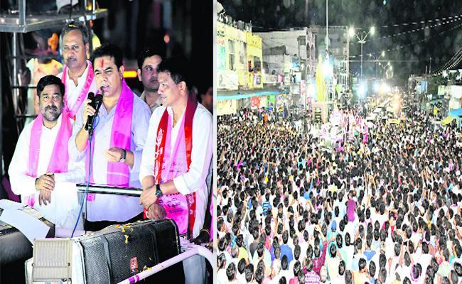 Huzurnagar Bi Election Becoming Much Intrest After Leaders Election Campaign - Sakshi
