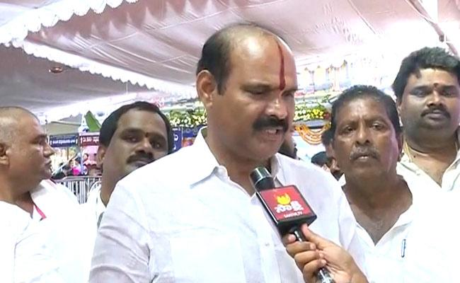 YSRCP MLA Says Will Not Step Back In Fulfilling Governments Promise - Sakshi